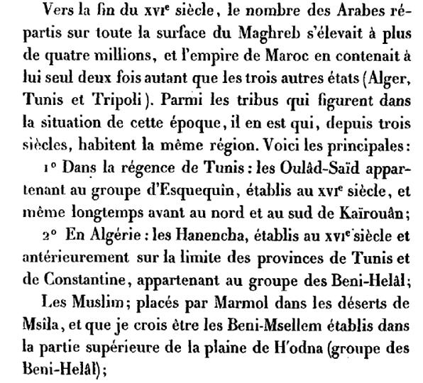 Tribus Algériennes - القبائل الجزائرية