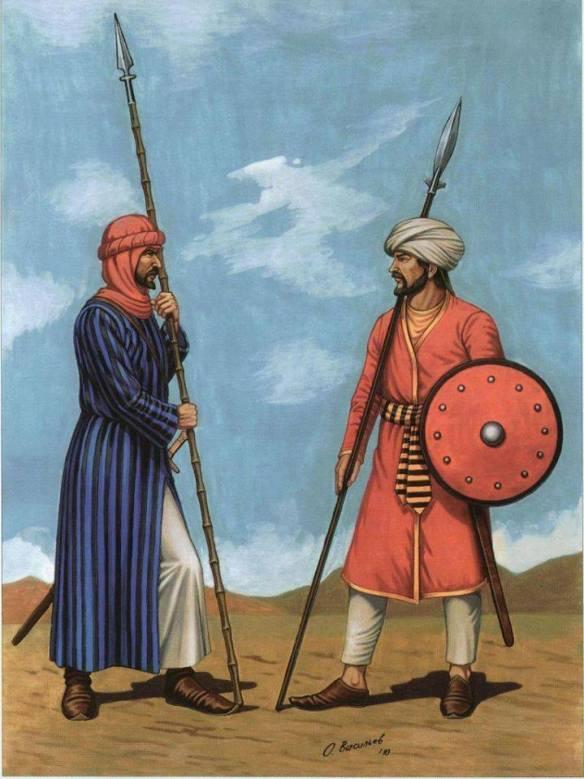 image : guerriers bédouins du type banu hilal