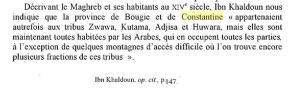tribus arabes l'est d'Algérie