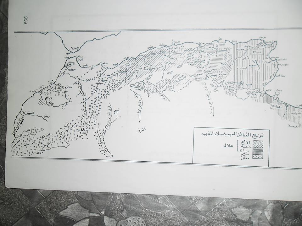 القبائل العربية الجزائرية