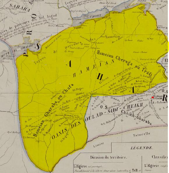 hmiyan - الحميان النعامة عين صفرا مشرية