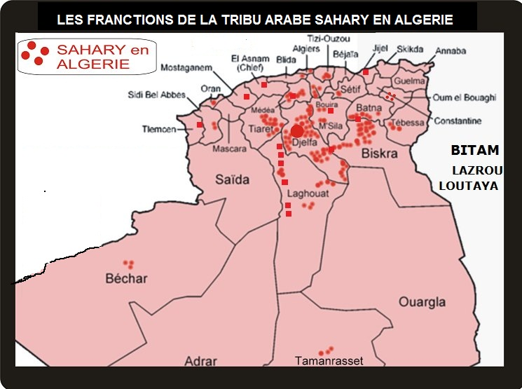 la tribu arabe sahary en algérie