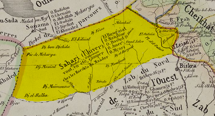 la tribu arabe sahari , bisikra