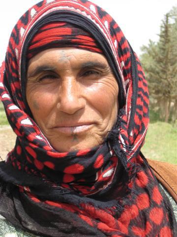 الوشم لدي النساء العربيات في الشام
