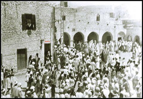 ساحة السوق القديم 1962 بمتليلي الشعانبة بلد الشهداء
