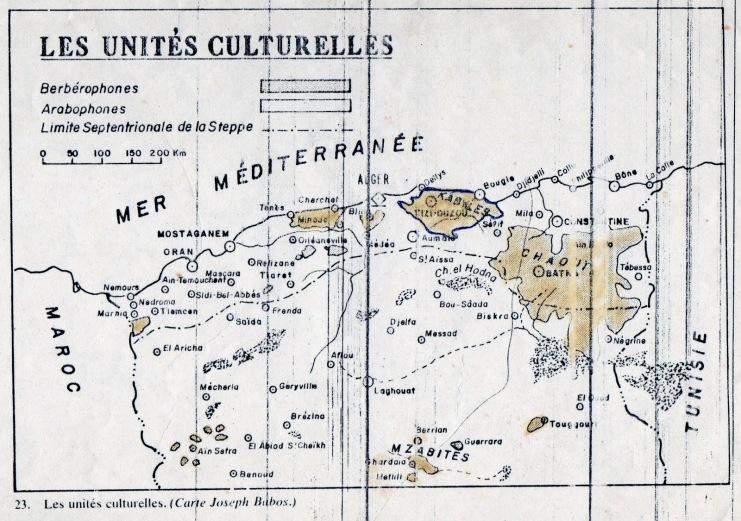 الأمازيغ في الجزائر