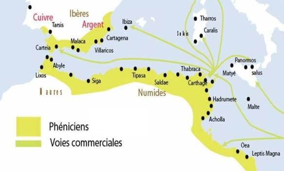 الفينقيون في الجزائر les phéniciens en algérie