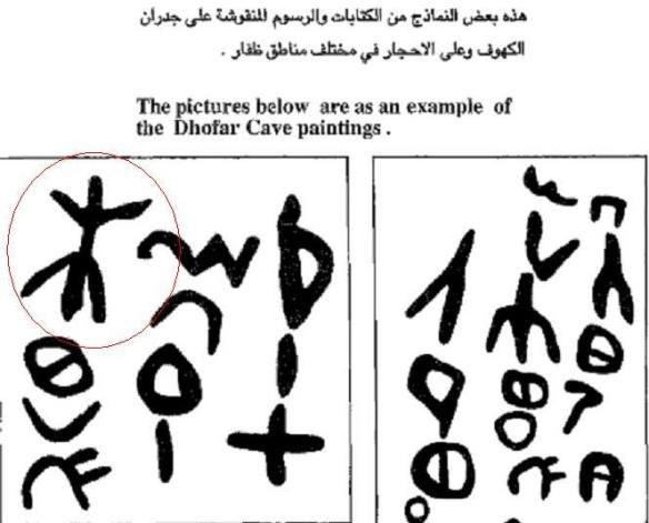 رموز عربية قديمة في اليمن