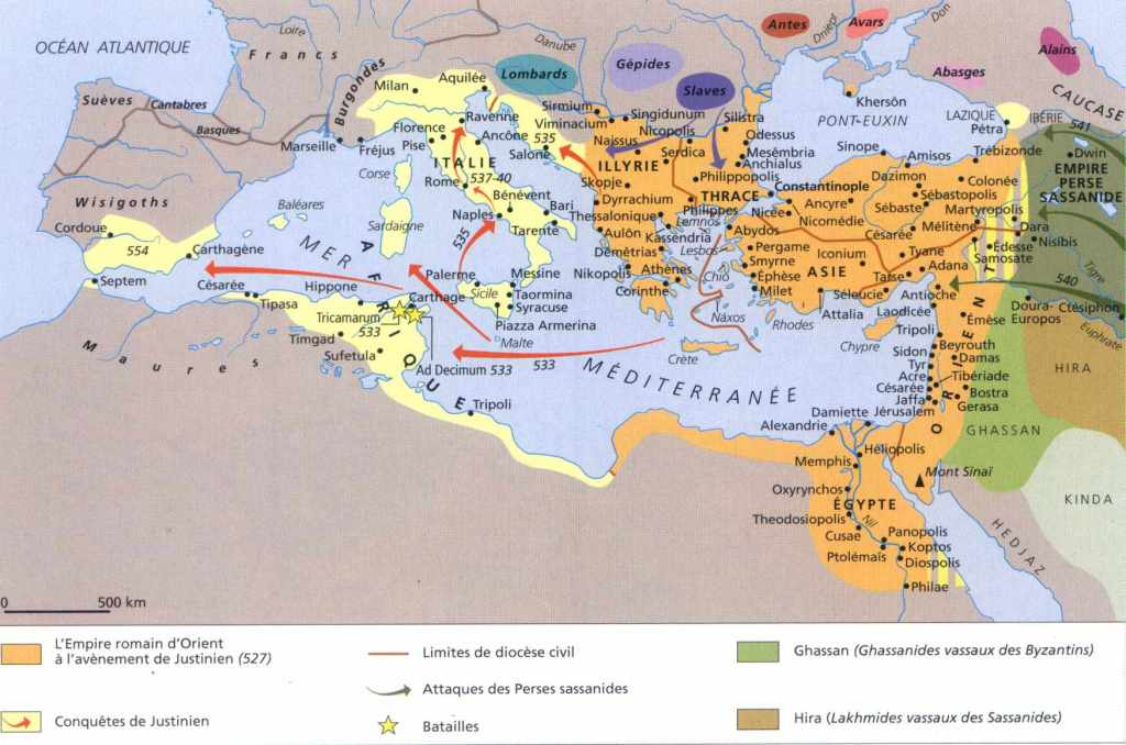 les Byzantins البيزنطيين