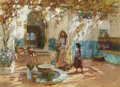بيت عاصمي في عهد الأتراك