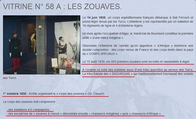 من الأرشيف الفرنسي - عملة تجنيد الزوافا تمت بعد أول شهر من احتلال الجزائر