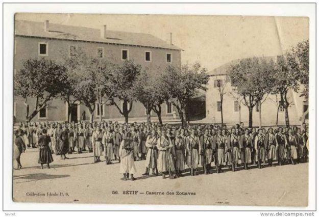 جيش الزوافا الزواوي في سطيف