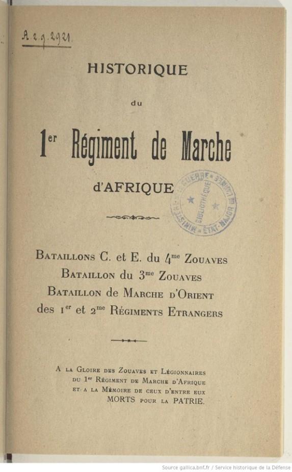 تاريخ الزواف إصدار وزارة الدفاع الفرنسية 8 أكتوبر 1950 لتحميل الكتاب http://anorinfanterie.free.fr/Html/LESZOUAVES1950.pdf