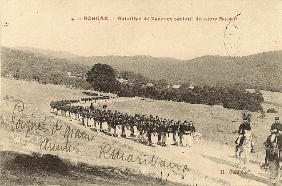الزواف واحتلال الجزائر لصالح فرنسا les zouaves et la colonisation de l'algérie