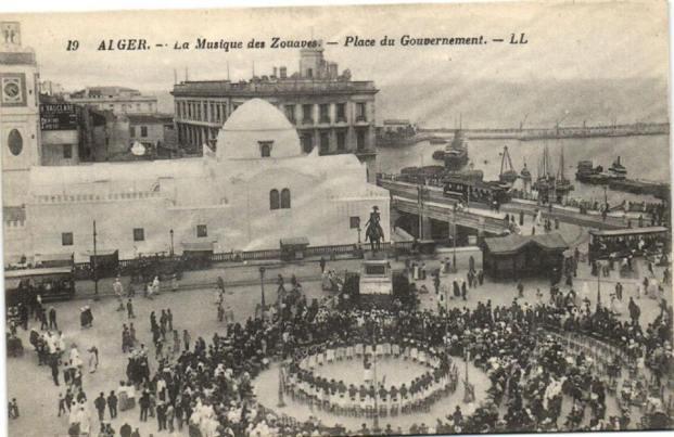 الزواف واحتلال العاصمة les zouaves et la colonisation de la capitale algérienne