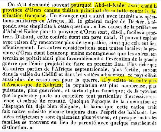 Source Abd-el-Kader nos soldats, nos généraux, les guerres d'Afrique, 1865. ABBÉ Loyer