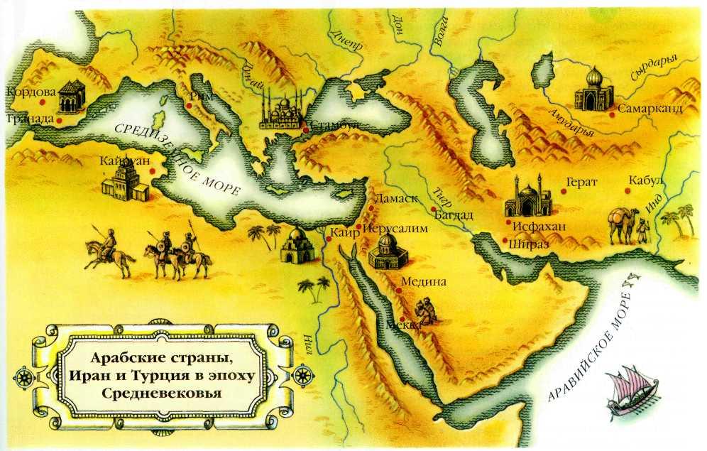 Les conquetes arabes sous les Rashidun et Omeyyade