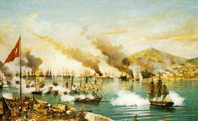 الاسطول العثماني في الجزائر