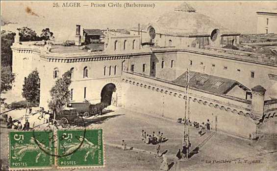 سجن سركاجي ، مقر عسكري عثماني حولته فرنسا لسجن