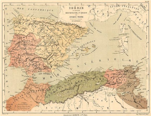 ancient-iberia-or-hispania.-mauritania-numidia-africa-proper.-roman-1880-map-241723-p