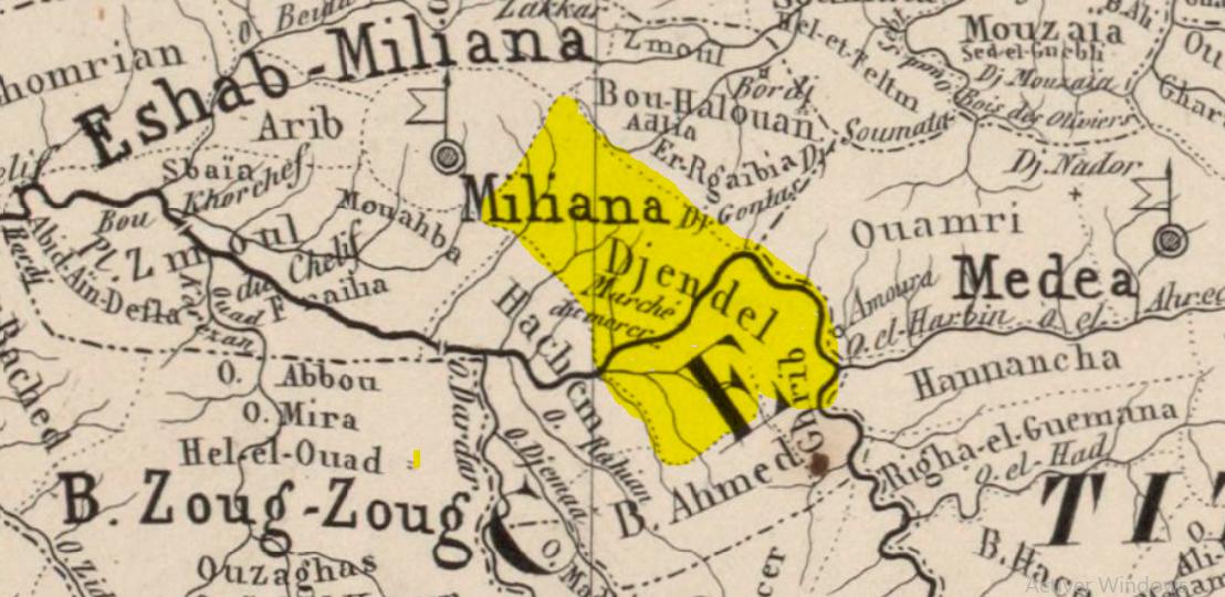 Tribu Djendel – Ain Defla / Algérie — قبيلة جندل الهلالية – عين الدفلى /الجزائر